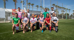 La tercera edición del Valencia Rugby Festival reúne a 500 jugadores de diez nacionalidades