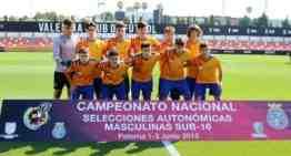 La Selección FFCV Sub-16 se mete en la final del Campeonato de España tras doblegar a Cataluña (2-1)