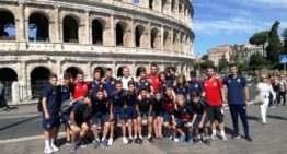 Victoria del Valencia CF Infantil 'B' en Murcia y meritorio segundo puesto para el Infantil Fundación en Roma