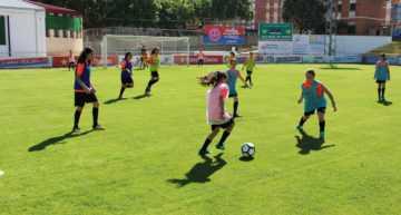 Arranca el II Campus de Fútbol Femenino Andrea Esteban con un total de 33 niñas