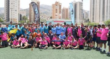 El Newcastle se hizo con la Costa Blanca Inclusive Cup tras derrotar al Valencia CF en un torneo repleto de integración