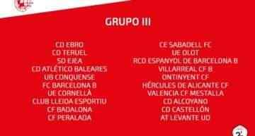 El Grupo III de Segunda División B 2018-2019 ya tiene equipos confirmados
