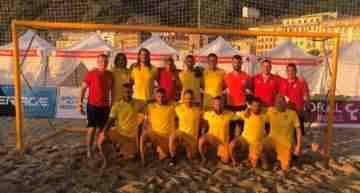 Triunfo de la Selección FFCV de fútbol playa en su debut ante Melilla (4-2)