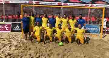 La Selección FFCV de fútbol playa finaliza sexta en el Campeonato de España