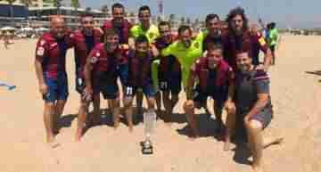 VIDEO: El Levante UD conquistó la III Liga Autonómica de Fútbol Playa FFCV