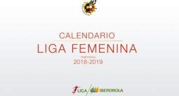 Levante Femenino-Rayo y Logroño-VCF Femenino abrirán el calendario de la Liga Iberdrola 18-19
