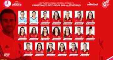 Alejandra Serrano y María Jiménez irán al Europeo Sub-19 con España