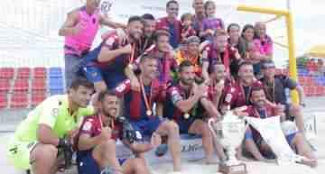 El Levante UD conquista con brillantez la Liga Nacional de fútbol playa