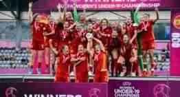 La Selección española Femenina Sub-19 se conquista el Europeo tras superar a Alemania (0-1)