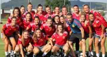 La Selección Española Femenina Sub-19 arranca el Europeo ante Noruega