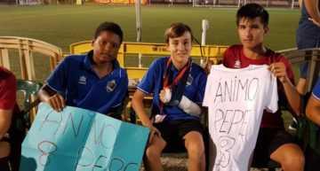 '¡Ánimo Pepe!': el pequeño gran gesto del Soccer Team Alevín 2018