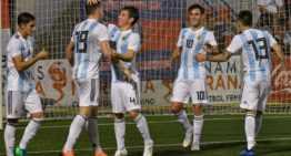 VIDEO: Un 'doblete' de Gaich bastó a Argentina ante la Selección Murciana (2-0)