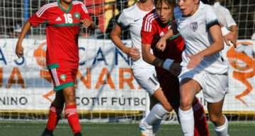 COTIF Cañamás Naranja: un solitario gol de 'Laurita' da la victoria al Madrid CFF ante la Selección de Marruecos (1-0)