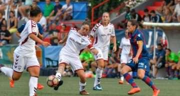 COTIF Cañamás Naranja: La 'máquina' del Levante Femenino sólo sabe ganar en el COTIF (1-0)