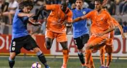 VIDEO: Uruguay no perdona ante la Selección Valenciana y se clasifica para las semifinales (1-3)
