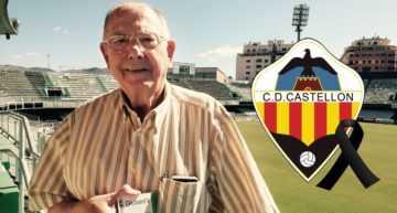 Duelo por el fallecimiento de Antonio Colomina, socio número 1 de CD Castellón