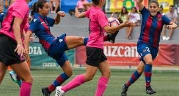 El Levante Femenino sigue de rodaje y se impone al Mislata (2-0)