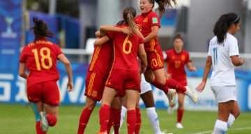 La Selección Española Sub-20 Femenina empata ante Estados Unidos y se clasifica para cuartos de final del Mundial tras una brillante Fase de Grupos