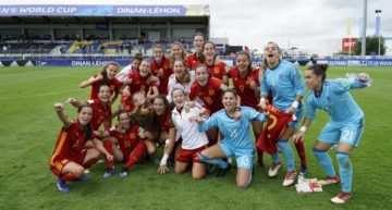 La Selección Española Sub-20 Femenina buscará las semifinales del Mundial ante Nigeria