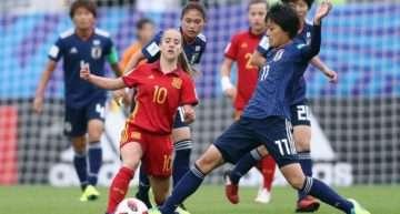 La Selección Española sucumbe ante Japón en la final del Mundial Femenino Sub-20 (1-3)