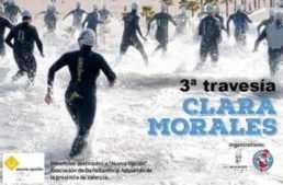 Vuelve la III travesía a nado solidaria 'Clara Morales' a la playa de La Patacona