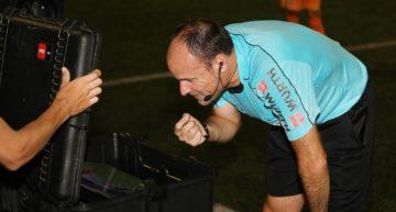 El VAR superó con nota su primera prueba en el fútbol español en el COTIF 2018