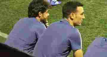 Argentina premia a la dupla Scaloni-Aimar con el mando de la selección absoluta 'hasta diciembre'