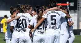 Triunfo del VCF Femenino ante el Espanyol en su estreno liguero en el Puchades (3-0)