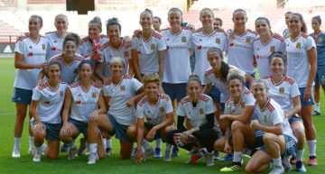 Una impecable Selección Española Femenina logró firmar el pleno de puntos en la Fase de clasificación para el Mundial