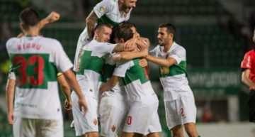 El Elche debuta con triunfo en la Copa del Rey y ya está en tercera ronda (2-1)