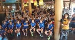 Levante UD y Catarroja protagonizaron la presentación de la IX Copa Federación de fútbol base