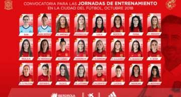Vilda contará con cinco jugadoras del fútbol valenciano para los entrenamientos de la Femenina Absoluta del 1 al 6 de octubre