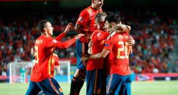 Elche y el Martínez Valero presenciaron el vendaval español ante Croacia (6-0)