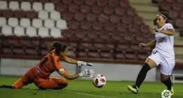 El VCF Femenino se estrelló contra el EDF Logroño y su propia incapacidad para anotar (0-0)