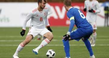 Empacho de goles de España Sub-21 ante Islandia (2-7)