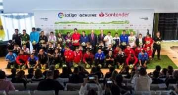El fútbol inclusivo no para de crecer: LaLiga Genuine pasa de 18 a 30 equipos en su segunda edición