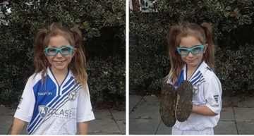 La carta viral de la madre de Darcy (7 años) que defiende el derecho de su hija a jugar al fútbol