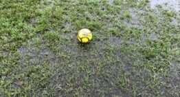 Las fuertes lluvias obligan a la FFCV a la suspensión de (casi) la totalidad de la jornada de fútbol autonómico del 20 y 21 de octubre