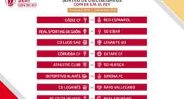 Ebro, Almería y Lugo se enfrentarán a Valencia, Villarreal y Levante en Copa del Rey