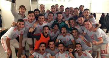'Doblete' de Ferran Torres para el pleno de triunfos en la clasificación para el Europeo Sub-19 (1-2)