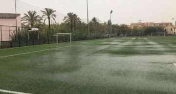 La 'gota fría' limita a la élite el fútbol en la Comunitat Valenciana