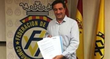 Salvador Gomar presenta formalmente ante la Asamblea de la FFCV su candidatura para la presidencia