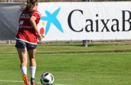 Asun Martínez: 'Lo que más te llena es llegar a la selección española y defender el escudo de todo un país'