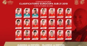 La Sub-21 sigue dando un papel relevante a lo valenciano: cinco representantes en la lista de De La Fuente