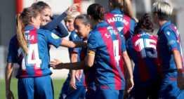 El Levante Femenino sigue impecable en casa tras arrasar ante el Espanyol (4-0)