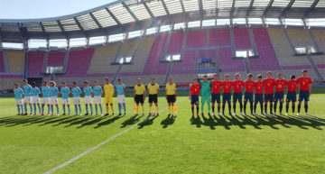 España Sub-17 tumbó a Israel y pasa a la Ronda Élite del Preeuropeo como primera de grupo (3-0)