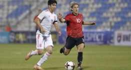 Rafa Mir encuentra el premio para la Sub-21 ante Albania (0-1)