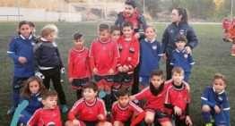 El 'fair play' se expande: el Mislata UF Benjamín jugó seis contra seis ante el CFF Marítim