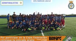 Cuadro y horarios de la Jornada 4 de la IX Copa Federación Alevín en El Planter
