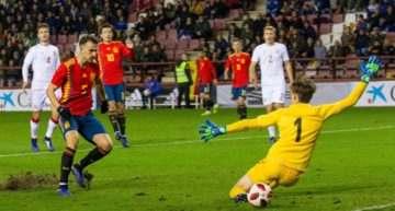 'Hat-trick' de Borja Mayoral para una España Sub-21 que marcó territorio ante Dinamarca (4-1)